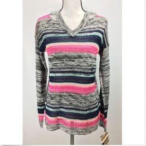 Eyeshadow Pullover Hoodie Sweater Long Sleeve